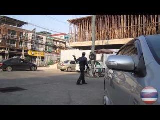 Прикол. парковщик в Паттайе. Тайланд / Trick. the valet in Pattaya. Thailand